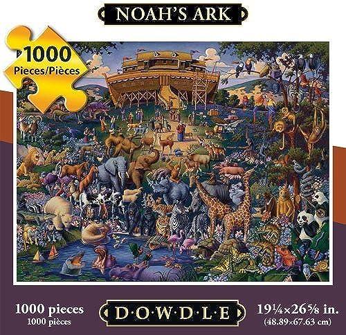 Dowdle Noah's Ark 1000 Piece Puzzle by Dowdle Folk Art