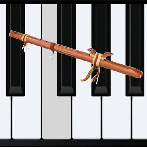 Holz Flöte Klavier