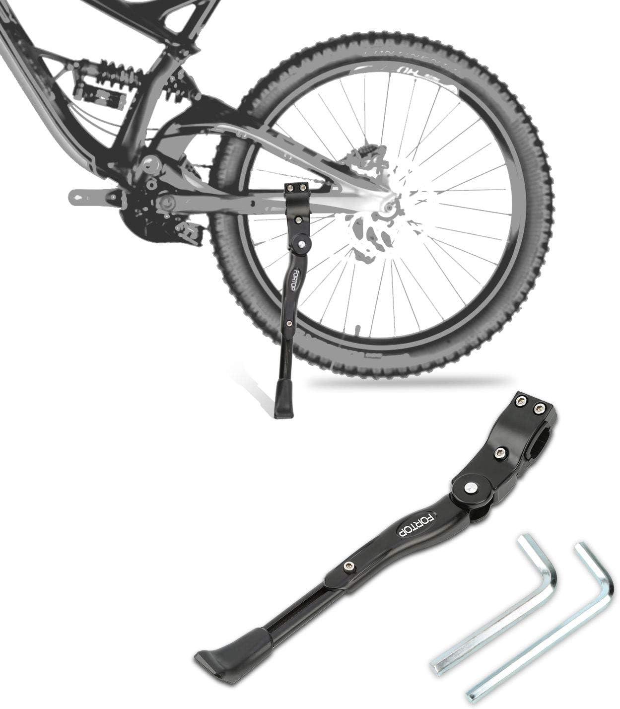 Adjustable Bike Kickstand MTB Road Mountain Side Bicycle Kick Stand Metal Kids