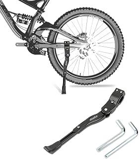 FORTOP Bicycle Kickstand Adjustable Aluminum Alloy Bike Side Kickstand for 22 24 26 28 Mountain Bike/Road Bicycle/BMX/MTB/City Commuter Bike/Kids Bike/Sports Bike/Adult Bike/700 Road Bike