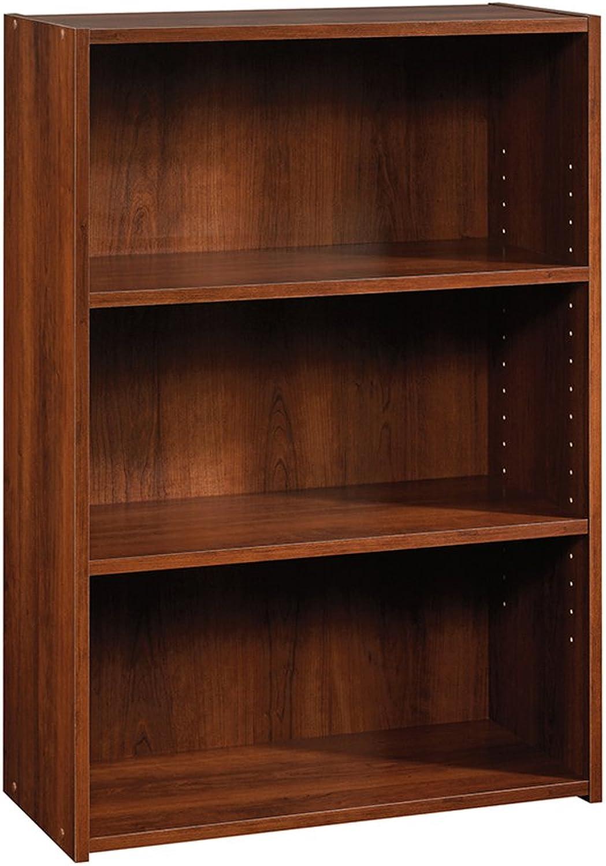 Sauder 416438 Beginnings 3-Shelf Bookcase, L  24.57  x W  11.50  x H  35.28 , Brook Cherry Finish