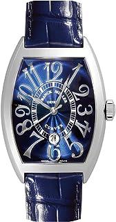 [フランクミュラー] FRANCK MULLER 腕時計 8880 B SC DT REL トノーカーベックス デイト SS/ブルーレザー ブルー 自動巻き メンズ 新品 [並行輸入品]