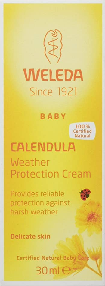 貧困アブストラクトシエスタWeleda Calendula Weather Protection Cream 30ml (Pack of 2)