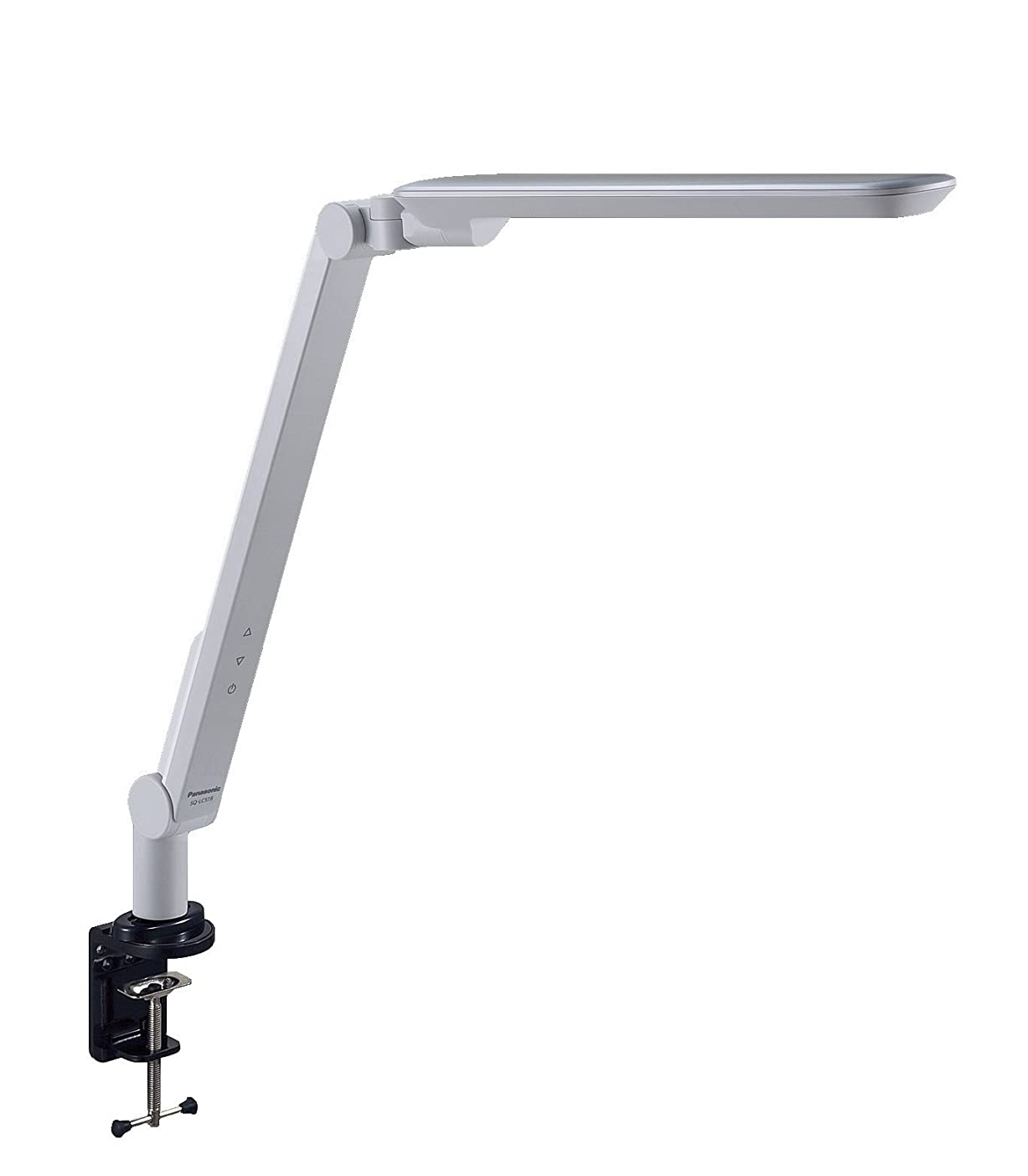テレマコス薬矢じりパナソニック LEDデスクスタンド クランプタイプ ライトグレー SQ-LC518-W