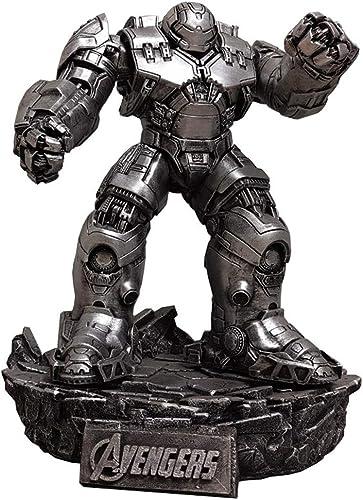 descuento de ventas WYZBD Avengers Iron Man Man Man Modelo Colgante Imitación Metal Desmontable Base Independiente plata oro,plata  ahorra hasta un 30-50% de descuento