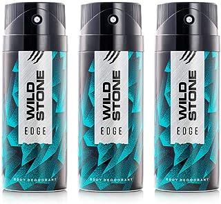 Wild Stone Edge Deodorant For Men 150 ML Each (Pack of 3)