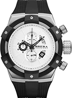 Brera Orologi Supersportivo in Stainless Steel and Black BRSSC4905