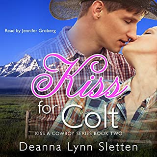 A Kiss for Colt audiobook cover art