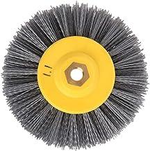ULTECHNOVO Sliptrådborste av nylonfilament poleringsskiva borstskiva borr slipborr för rengöring av rostkorrosionsfärger (...