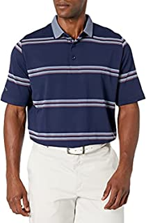 Callaway Short Sleeve Oxford Stripe Polo Shirt
