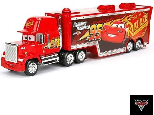 alta calidad y envío rápido Disney Pixar Cars 3 3 3 Mack con Remolque DieCast Vehículo Camión  te hará satisfecho