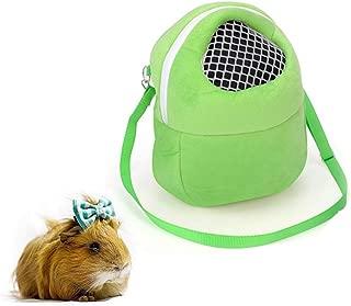 Small Animal Carrier Bags Pet Portable Travel Bags Breathable Outgoing Bag Handbag Backpack for Hamster/Hedgehog/Rabbit/Sugar Glider/Squirrel/Guinea Pig
