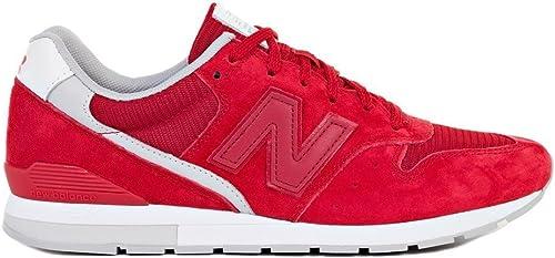 New Balance 996 - MRL996RC - Farbe  Rot - Größe  42.0