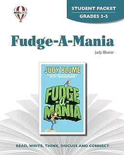 Fudge-A-Mania - Student Packet by Novel Units