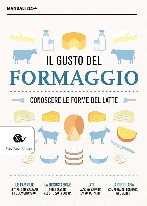 Il gusto del formaggio. conoscere le forme del latte (italiano) copertina flessibile 978-8884995889