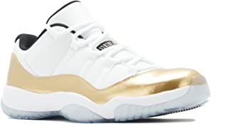 Jordan AIR 11 Retro Low 'White/Metallic Gold' Closing Ceremony August 27 2016 Release Men's Shoe Size