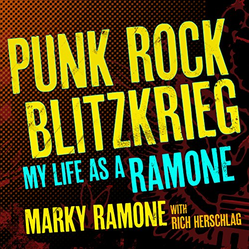 Punk Rock Blitzkrieg audiobook cover art