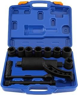 Yosooo Heavy Duty Multiplier Wheel Lug Nut Wrench Lugnuts Remover Labor Saving with 8 Socket