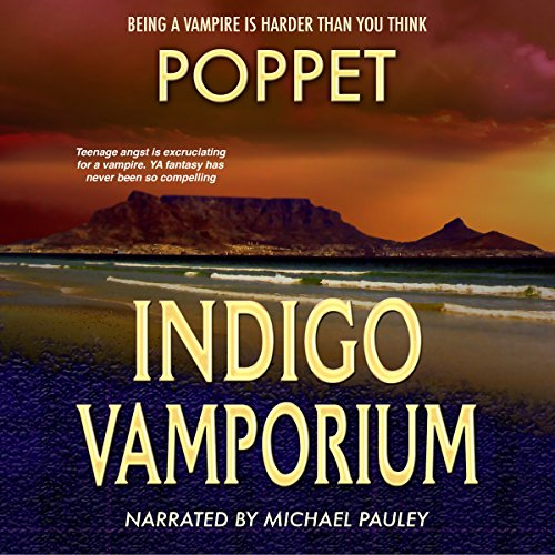 Indigo Vamporium audiobook cover art