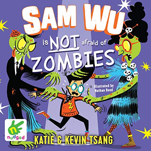 Sam Wu Is Not Afraid of Zombies  By  cover art