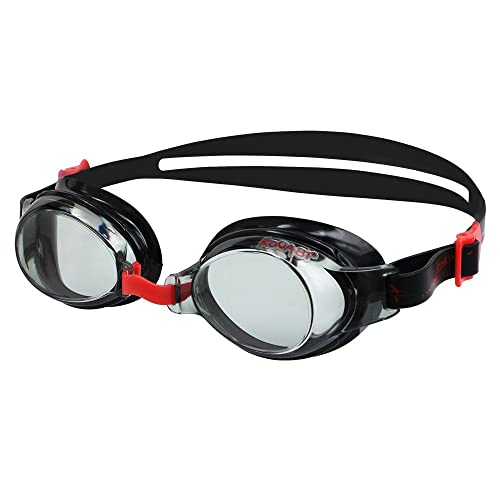 795b91873f KONA81 Barracuda Optical Swim Goggles - Triathlon Adjustable Nose Piece