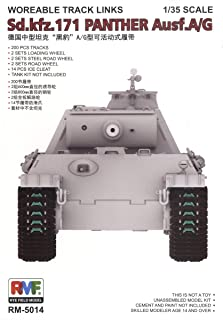 Rye Field Models RFMRM5014 1:35 Sd.Kfz.171 Panther Ausf.A/G Workable Track Links Set [MODEL BUILDING KIT ACCESSORY]