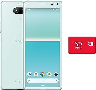 Y!mobile SONY Xperia 8 ブルー 【シンプルM/L専用】 ※回線契約後発送