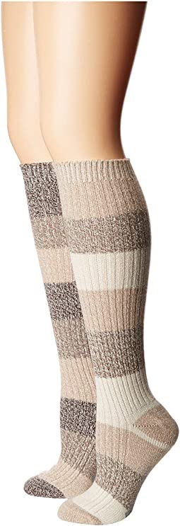 Super Soft Stripe Knee High 2-Pack