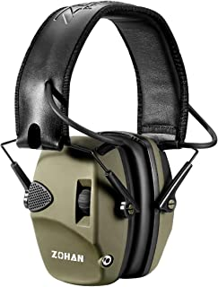 Electronic Shooting Ear Protection Muff | ZOHAN Sound...