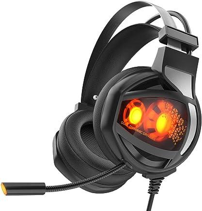 CamKing - Cuffie professionali da gioco, con tecnologia di riduzione del rumore e chiarezza cristallina, USB, LED, con microfono, per Xbox One, PC, laptop, tablet, Mac Smart Phone GH-1 - Trova i prezzi più bassi
