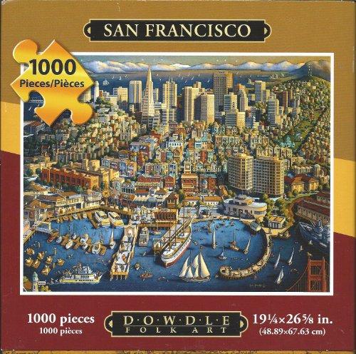 Dowdle Jigsaw Puzzle - San Francisco - 1000 Piece