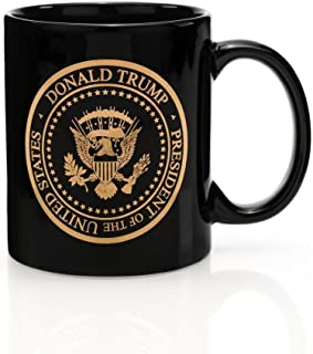 Presidential Gold Seal Coffee Mug - Limited Edition 45th President Donald J. Trump