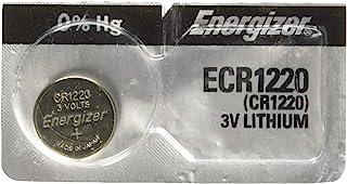 4 Energizer CR 1220 3 v Lithium Watch 0%Hg Mercury Free Batteries