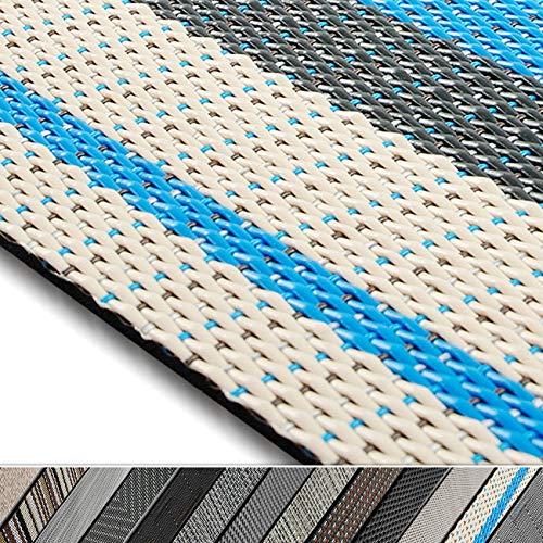 casa pura Design Bodenschutzmatte Ravenna in 6 Größen | dekorative Unterlegmatte für Bürostühle oder Sportgeräte (120 x 90 cm)