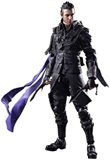 Siyushop Kingsglaive Final Fantasy XV Nyx Ulric Play Arts Kai Action Figure - Equipped with Weapons, Helmets and Replaceable Hands - High 26CM