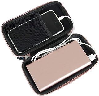 Anleo 硬质 EVA 旅行箱适合 DULLA M50000 便携式移动移动电源 12000mAh 外部充电器4344257439 玫瑰金