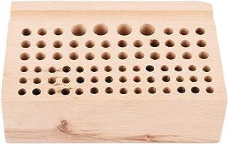 Support de Outil d'Artisanat pour Cuir 76 Trous Porte-outils pour Cuir Craft Outil Poinçon Porte-outil pour Cuir en Matéri...