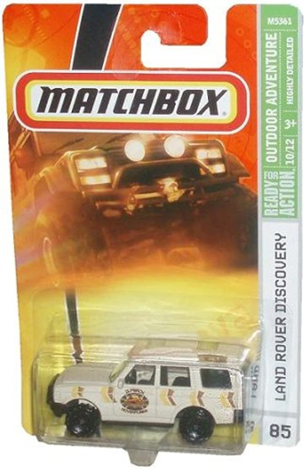 Mattel Matchbox 2007 MBX Outdoor Adventure 1 64 Scale Die Cast Metal Car   85  Tan color Outback Adventures Sport Utility Vehicle SUV Land Rover Discovery