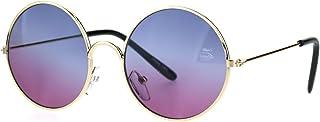 Kids Child Size Hippie Round Circle Lens Tie Dye Gradient...