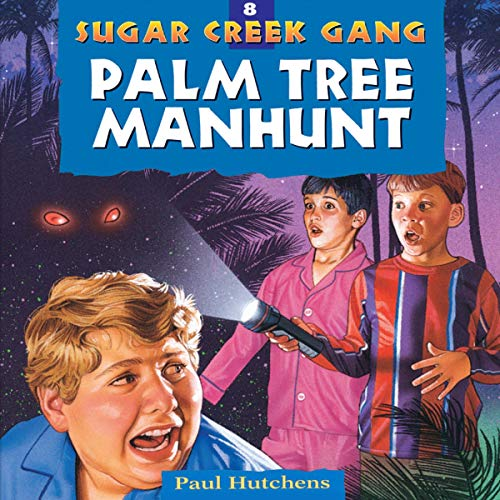 Palm Tree Manhunt audiobook cover art