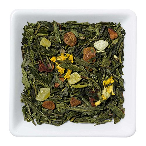 Grüner Tee (aromatisiert) Kaktusfeige-Mangostane - 1kg