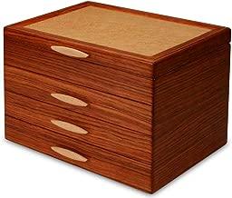 Heartwood Creations Cascade II Jewelry Box - 3 Drawer