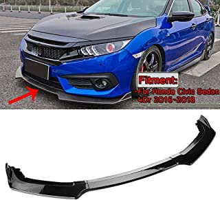 Best 2016 honda civic front bumper lip Reviews