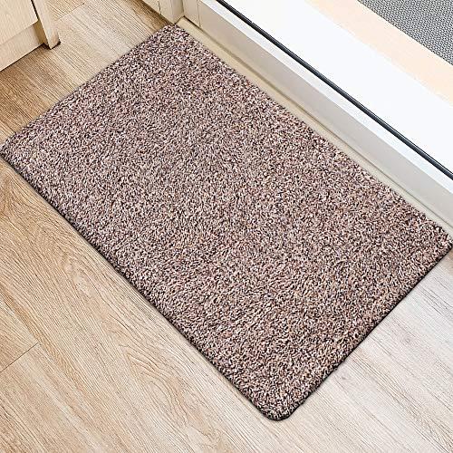 "Mejor Color&Geometry Indoor Doormat Outdoor Indoor 24""x36"" Mat Waterproof, Non Slip Washable Quickly Absorb Moisture and Resist Dirt Rugs for Entrance crítica 2020"