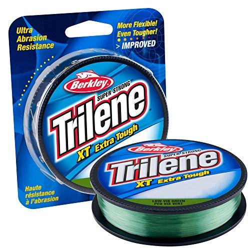 Berkley Trilene XT Monofilament Economy Pack(20-Pound,Low-Vis Green)