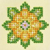 Diamond Dotz Complete Diamond Facet Art Kit Flower Mandala - Green