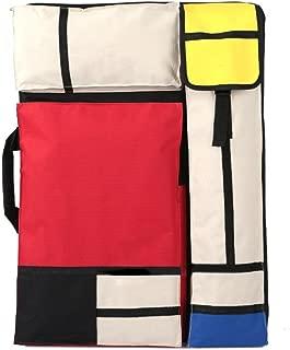 Betwoo Art Portfolio Case Bag Carry Backpack Colorized Sketch Board Art Storage Bag