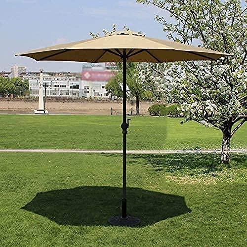 WQF Haushaltswaren Sonnenschirm Sonnenschirm Garten Sonnenschirme Markt Terrasse Outdoor Regenschirm Garten Rasen Tisch Sonnendach Eisenstange Regenschirm UV-Schutz...