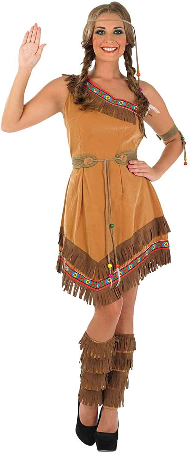 Fun Shack Adult Indian Squaw Costume  XXLARGE