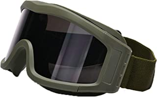 Aooaz Goggles Desert Windproof Anti Fog Sand Protection Shooting Glasses Goggles